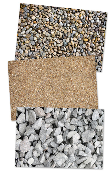 Sand And Gravel : Poland sand gravel stone and topsoil products utica ny